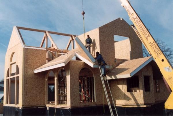 Строительство каркасных домов по СИП технологии