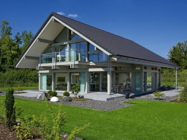 Каркасные дома проекты фото готовых домов